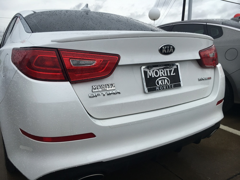 2014-2015 Kia Optima Factory Style Flush Mount Spoiler