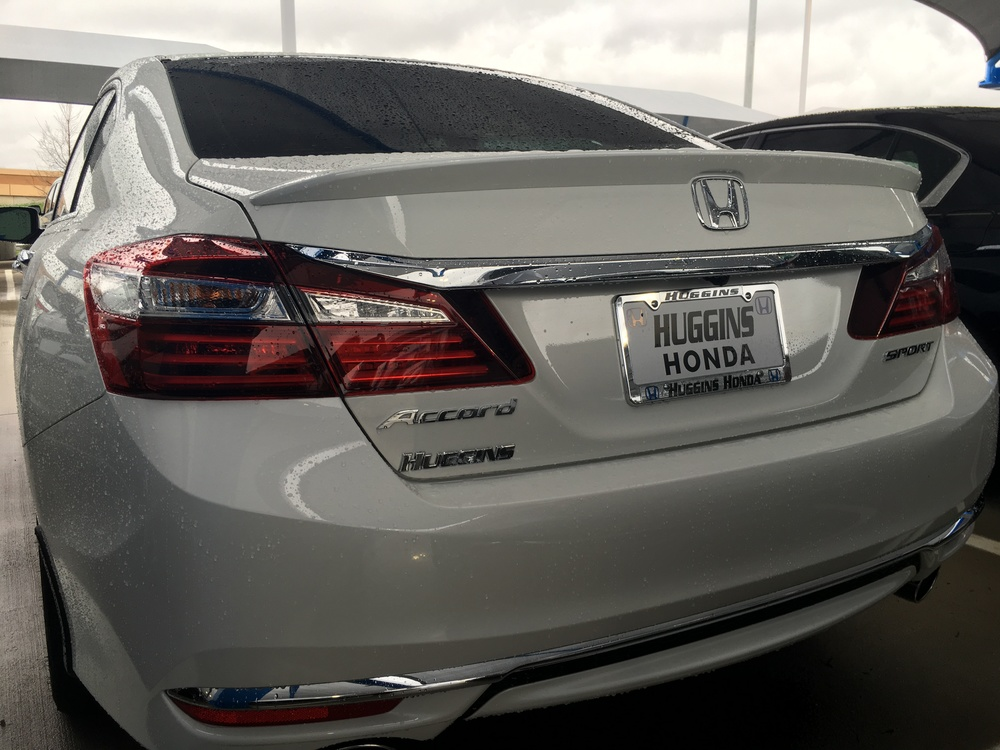 2013+ Honda Accord Sedan Factory Style Flush Mount Spoiler