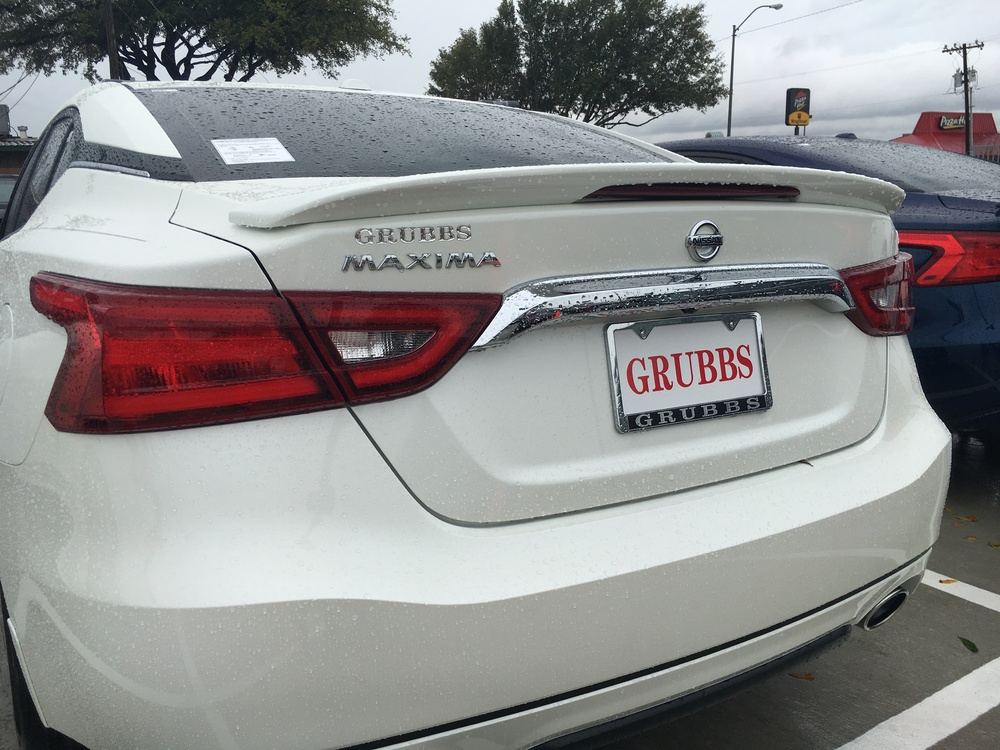 2016+ Nissan Maxima Factory Style Sport Spoiler