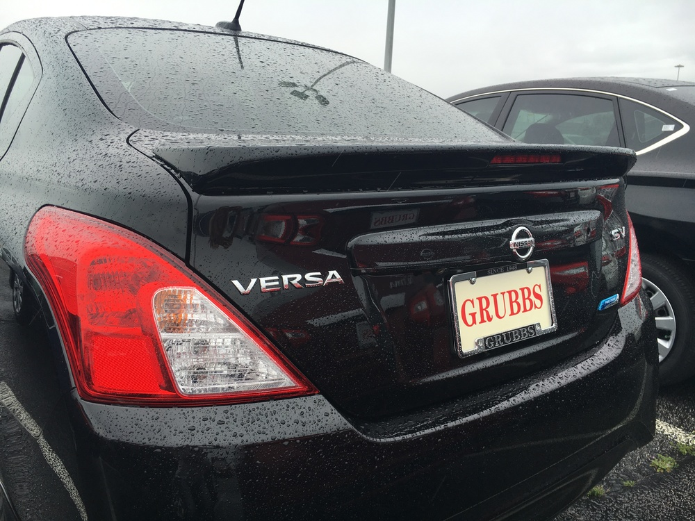 2012+ Nissan Versa Sedan Factory Style Flush Mount Spoiler
