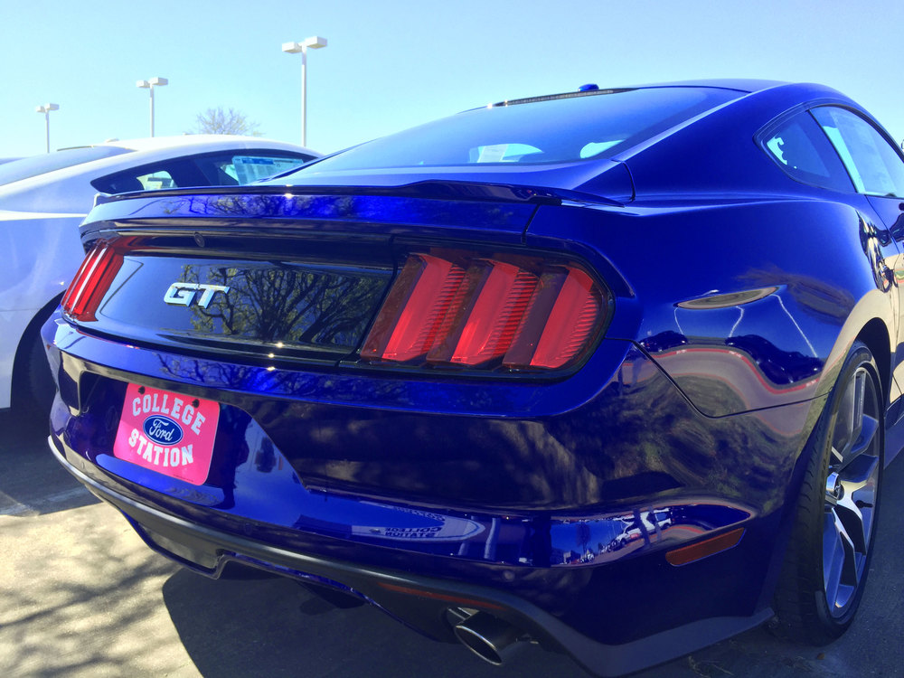 2015+ Ford Mustang Factory Style Flush Mount (Large) Spoiler