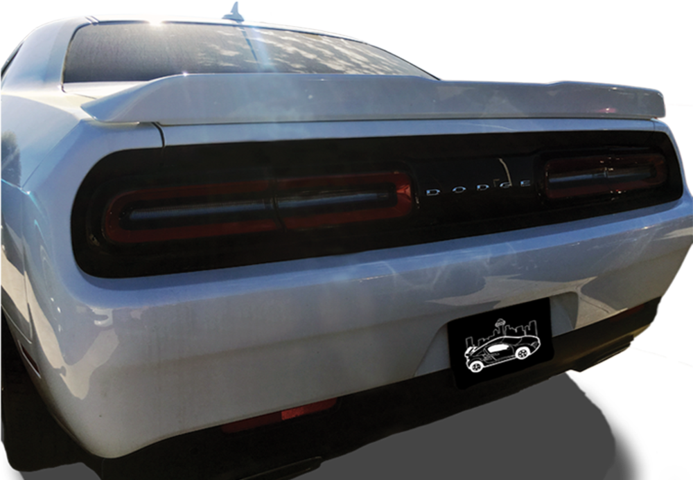 2015+ Dodge Challenger Custom SXT Plus (No Camera) Spoiler