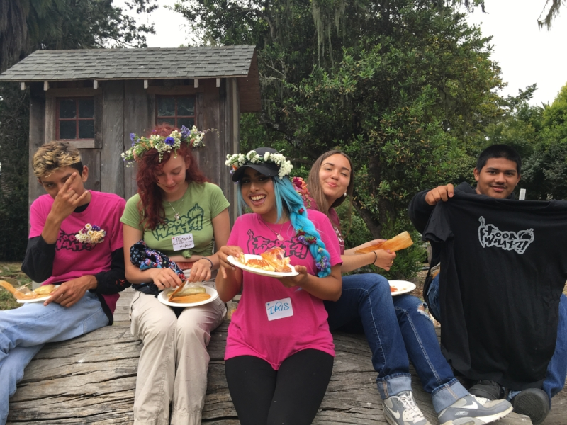 Repping Santa Cruz County and the FoodWhat Crew at our regional youth empowerment and food justice summit in July!