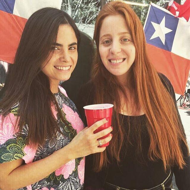 Las guapas organizadoras oficiales de la fonda Tebewuá. Gracias chicas por su esfuerzo! @cotecastroau @valefacuse