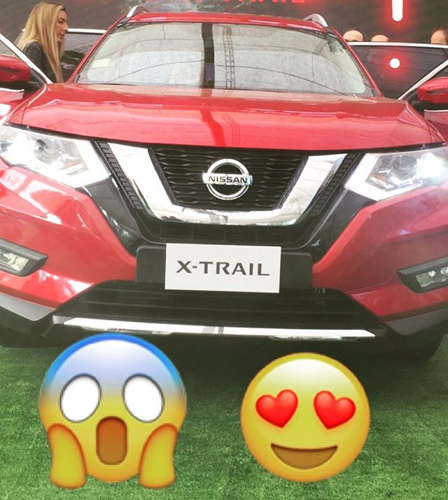 Nos encanta el nuevo #xtrail de @nissancl #encuentralaaventura
