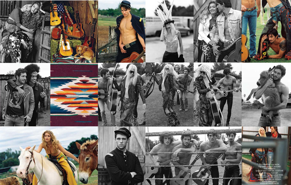 CR FASHION BOOK / BRUCE WEBER