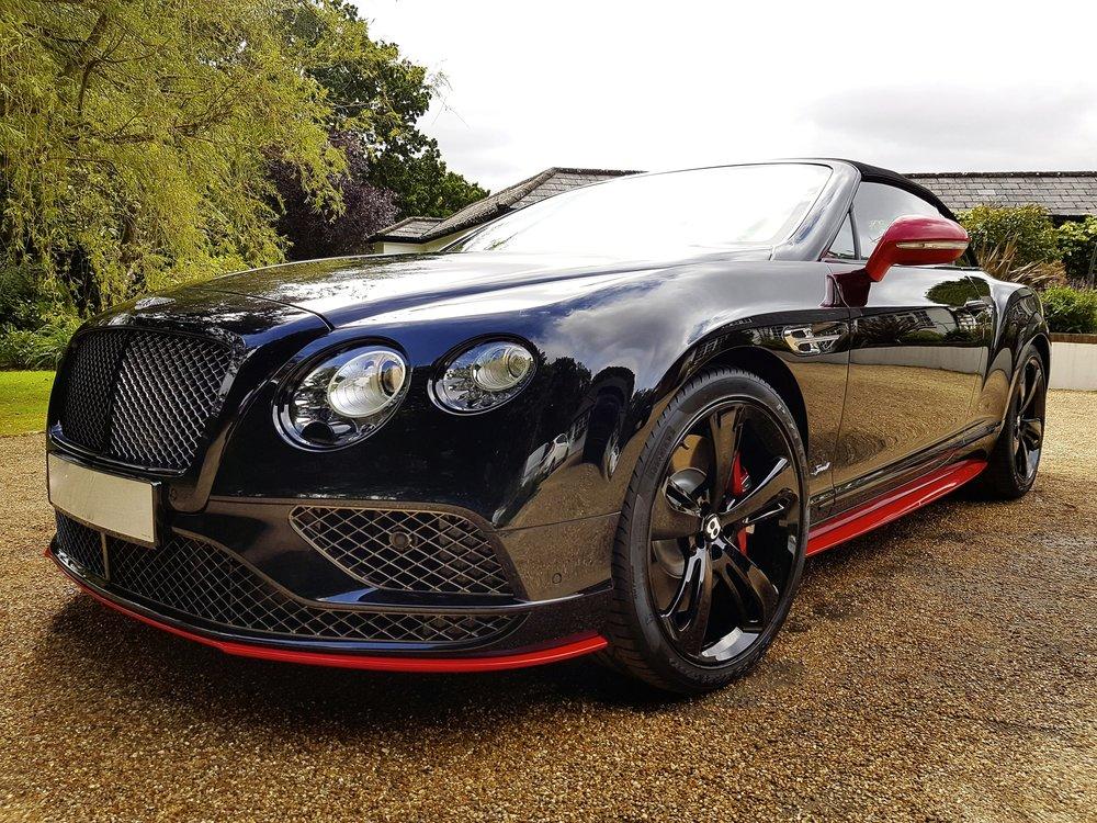 Bentley GT Black Edition