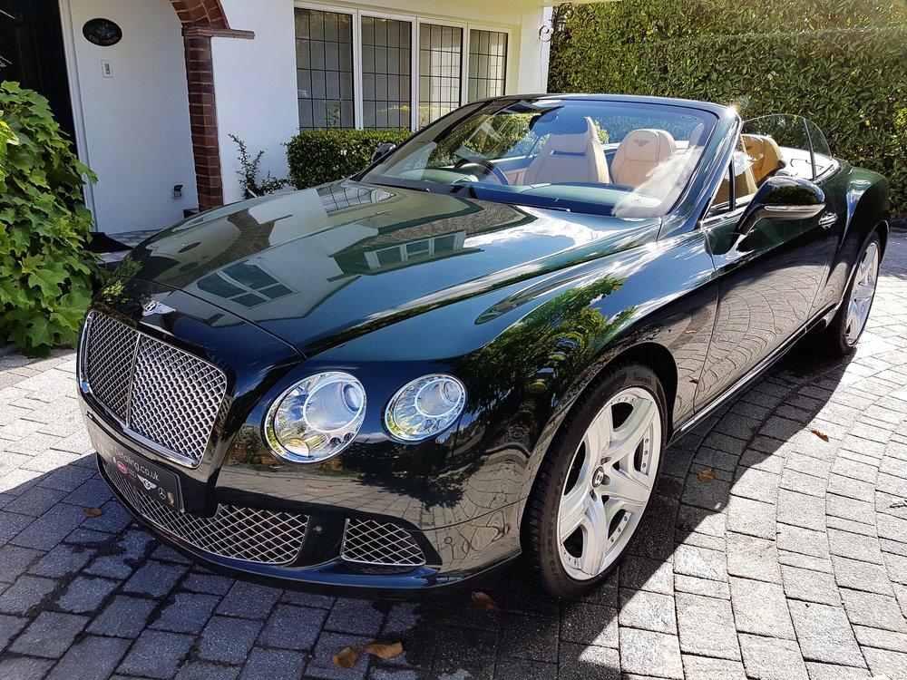 Bentley GTC Continental