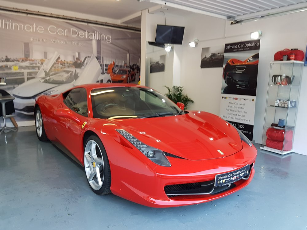 Copy of Ferrari 458 PPF Paint Protection Film
