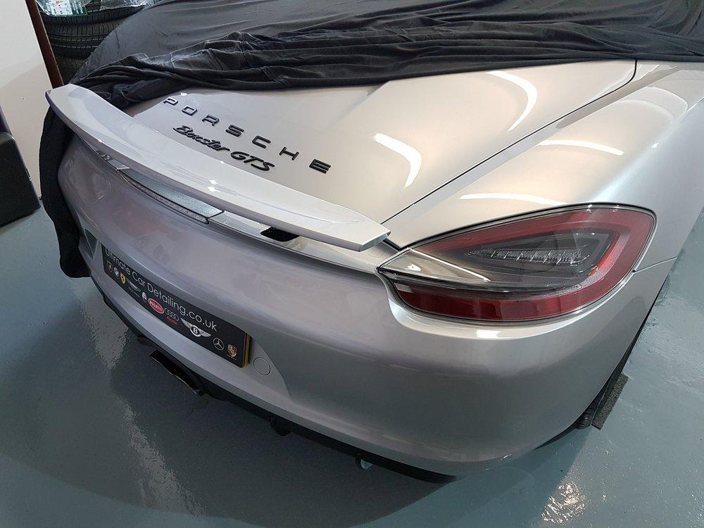 Porsche Boxster GTS PPF Paint Protection Film