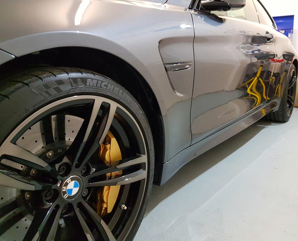BMW M4 PPF Paint Protection Film