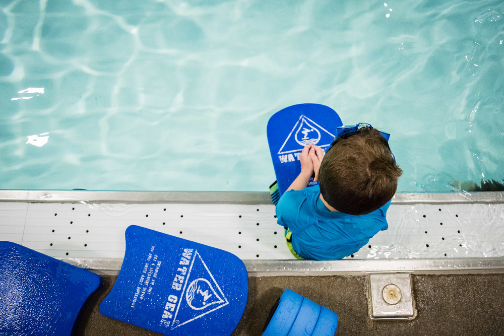 boy, swim lessons, family documentary and lifestyle photography