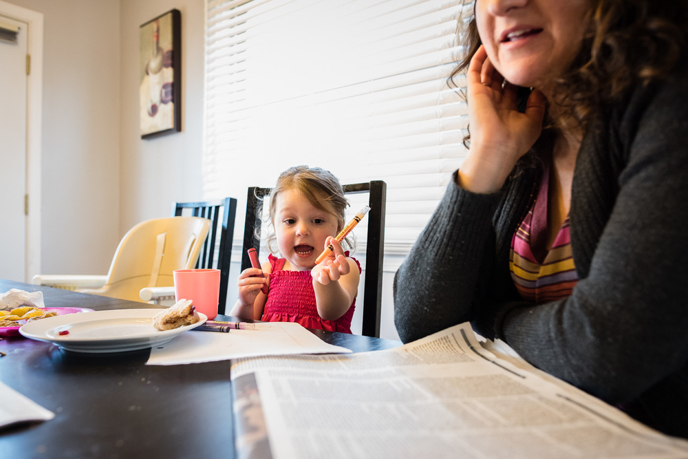 mother daughter, family documentary and lifestyle photography