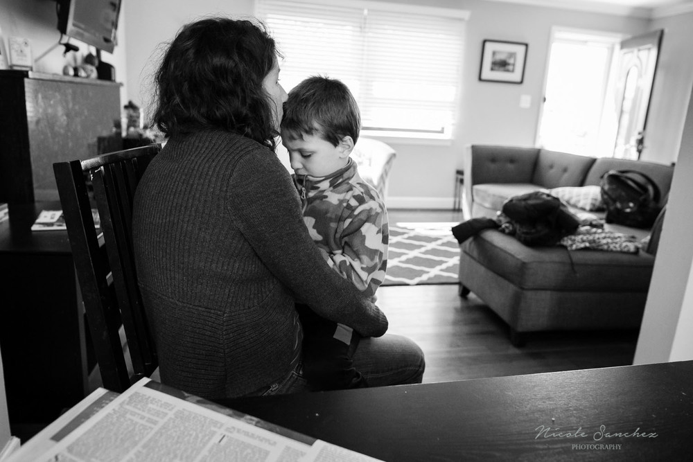 Northern Virginia Family Documentary and Lifestyle Photography, in home, motherhood