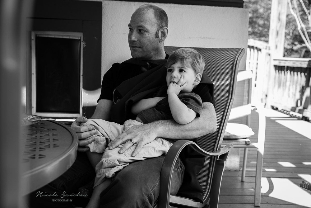 Fatherly love | Northern Virginia Documentary Family Photography