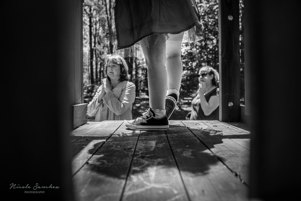 Going down the slide | Northern Virginia Documentary Family Photography