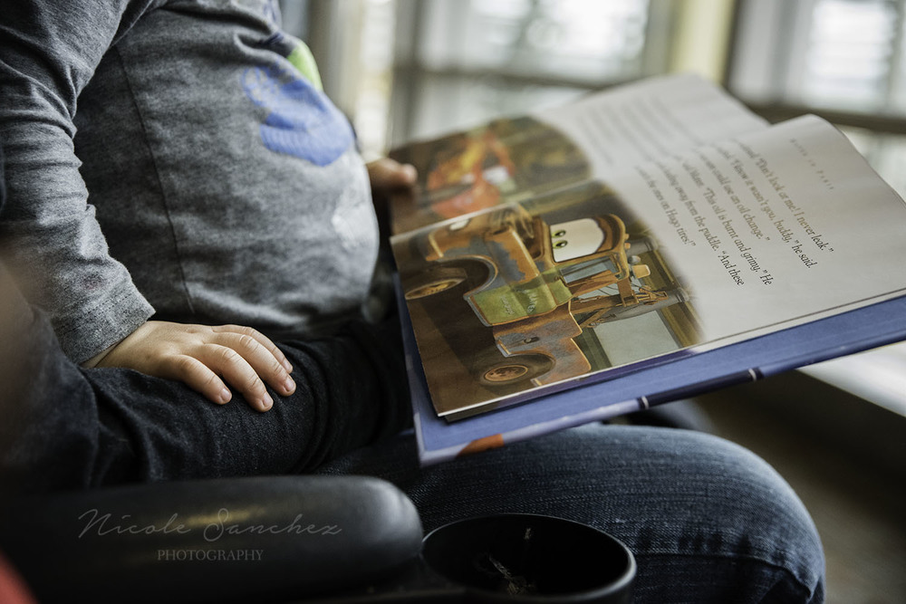 Airport travel reading Northern Virginia Documentary Photographer.jpg