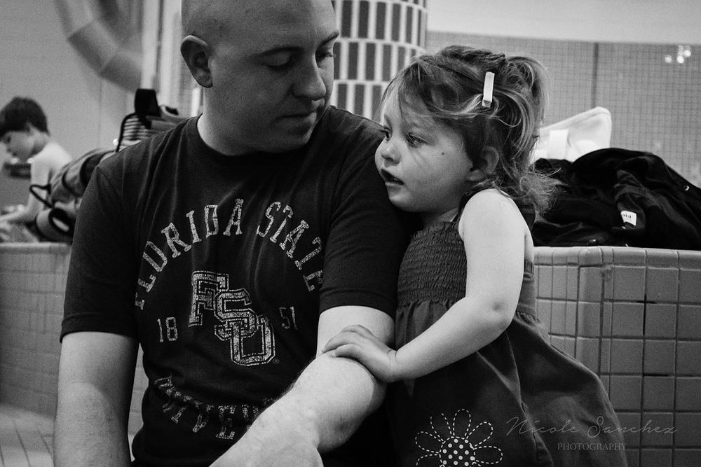 Father daughter moment | Alexandria Virginia Family Photographer