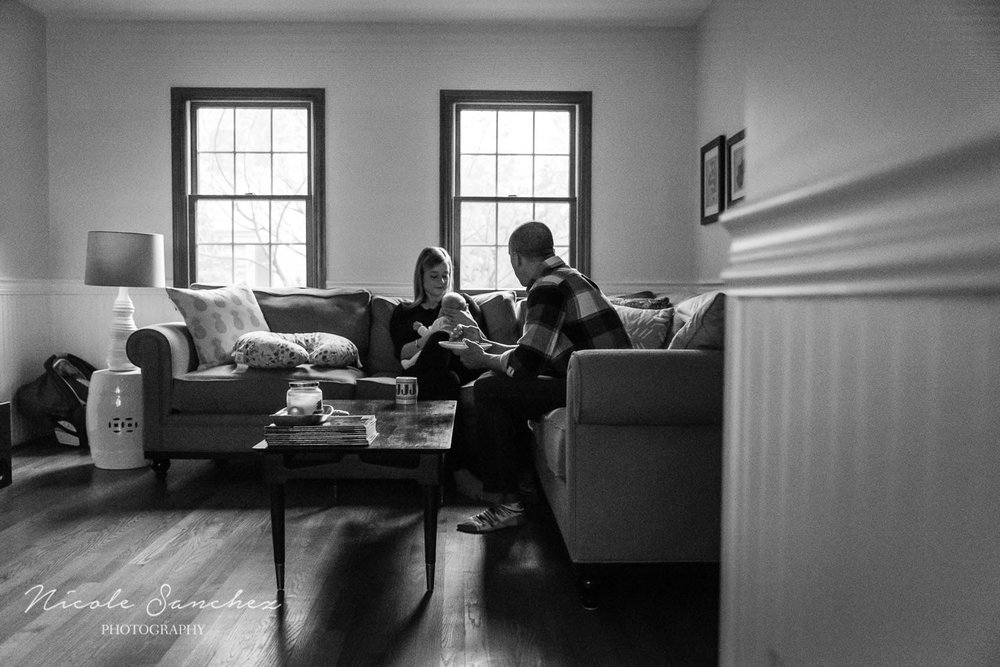 In home family photography session | Reston, Virginia