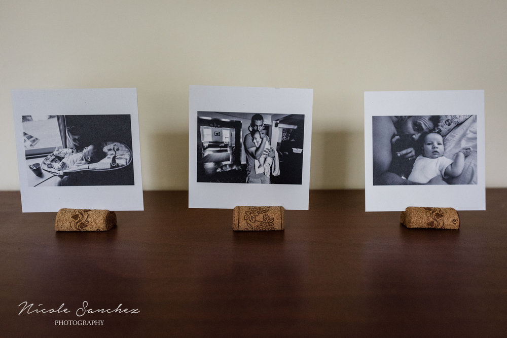 Photos in cork photo stands by Alexandria, VA Family Photographer Nicole Sanchez