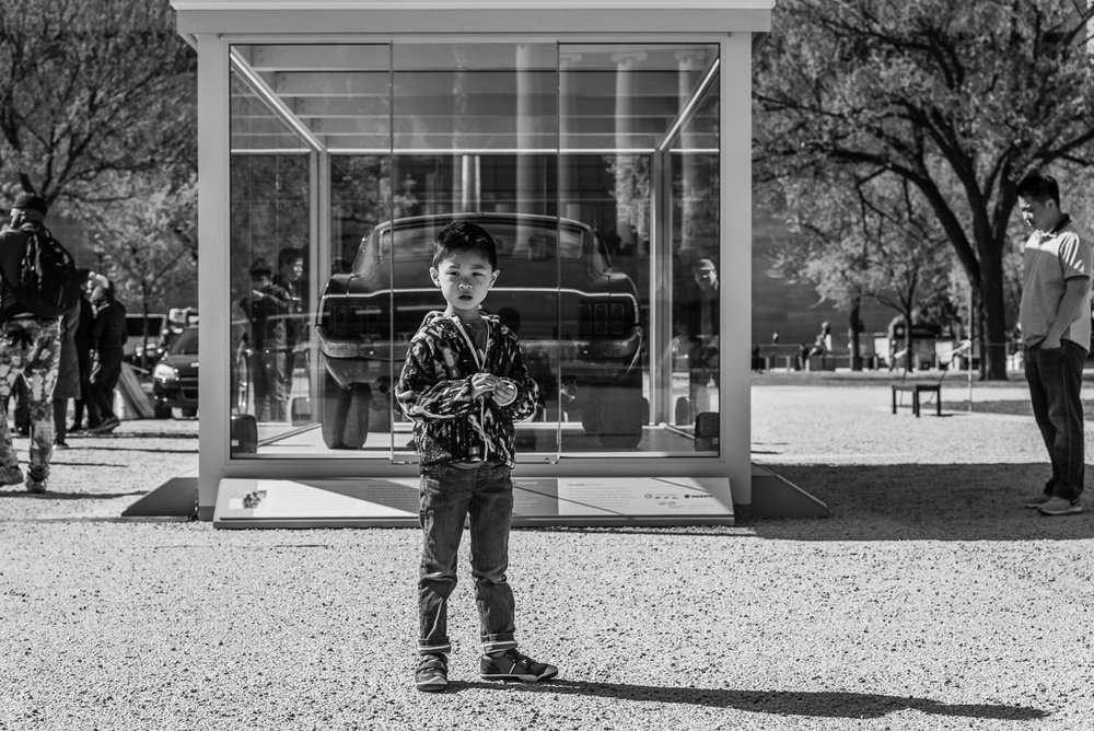 Boy on family vacation in Washington, D.C. by Nicole Sanchez Photography