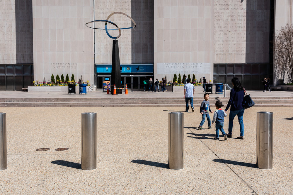 Family Vacation at Smithsonian Museum of American History in Washington, D.C.