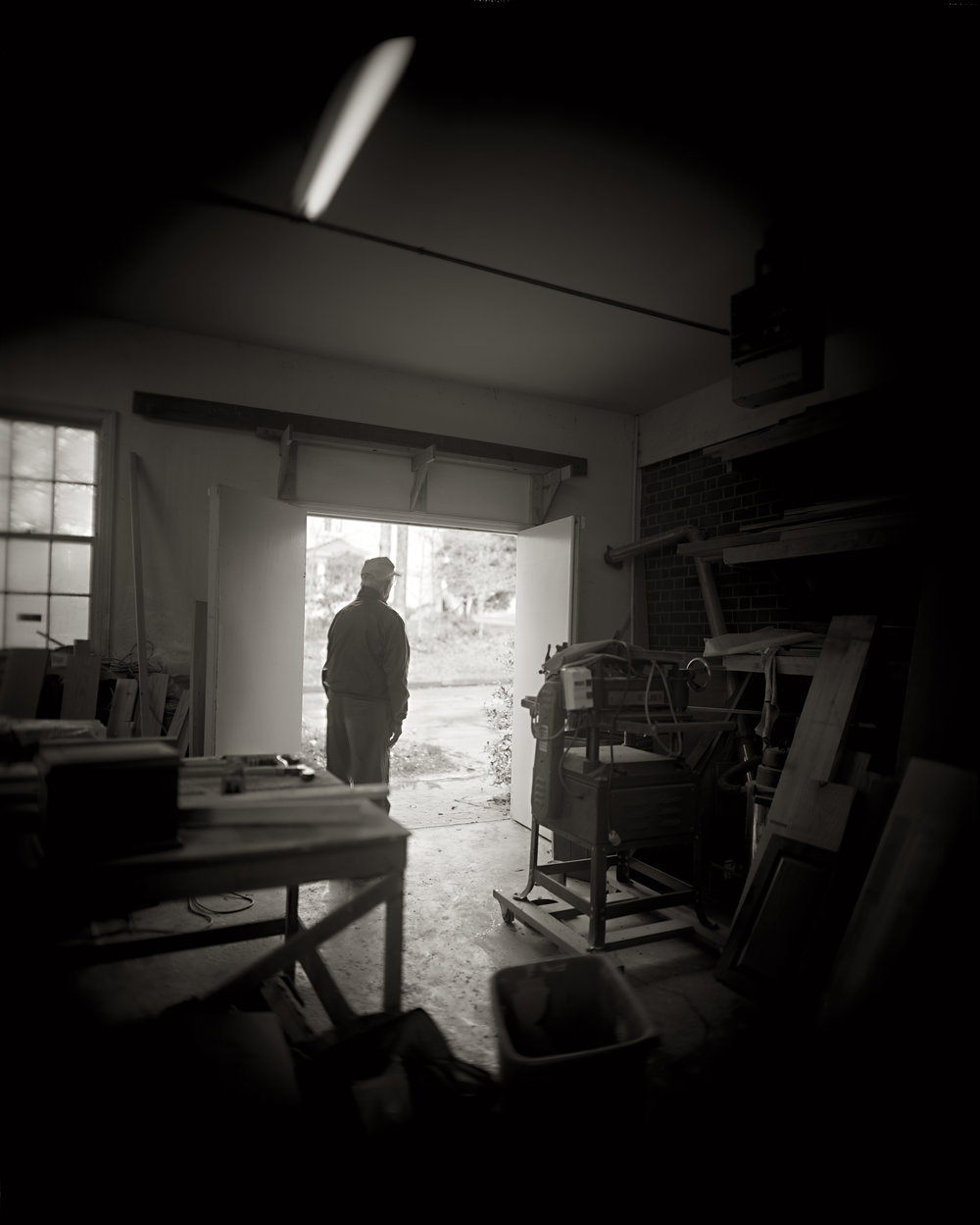 DAD IN HIS STUDIO