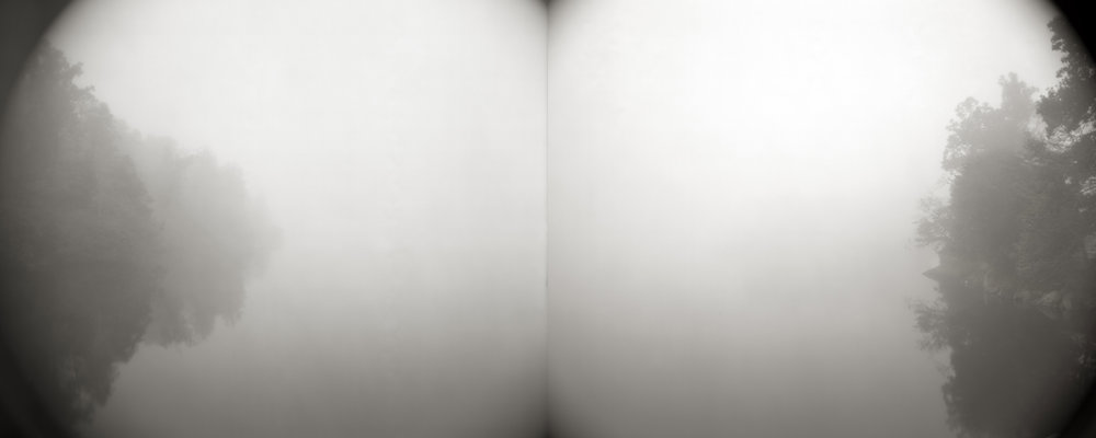 FROM TOME OF MEMORY  TEA TONED GELATIN SILVER DIPTYCH