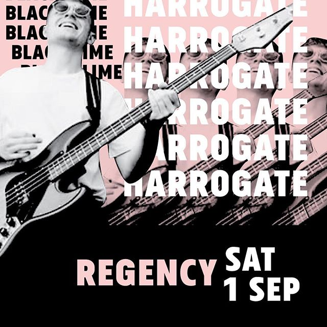 Don't know me arse from my elbow after that bank holiday weekend, but what I DO KNOW is that we're playing The Regency in Harrogate on Saturday with some right ballers, Harrogate friends come see us maybe? #harrogate #harrygat #harrogatelive