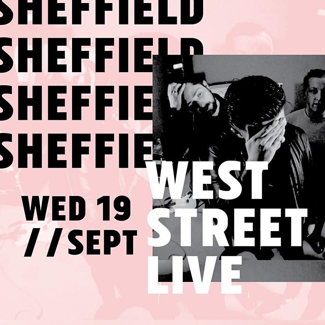 Following the raucous display in sunny hull, us and @thescrubsofficial are at @weststreetlive the next day, banging on Sheffield's door, not got arctic monkeys tickets? Shitter.