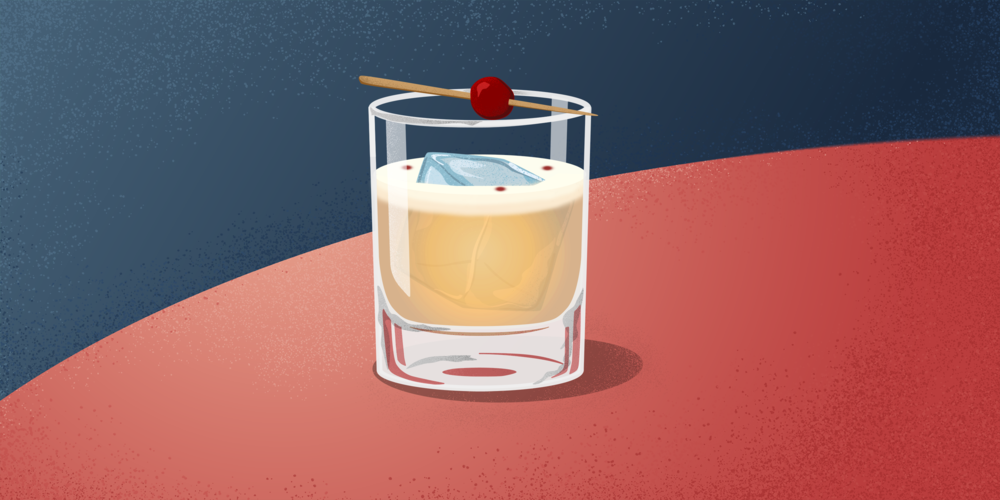 The Whiskey Sour - Creamy, Tart, and Delicious