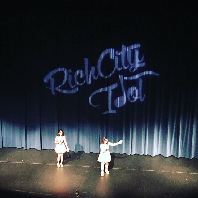 Our hosts have hit the stage!  #RichCityIdol
