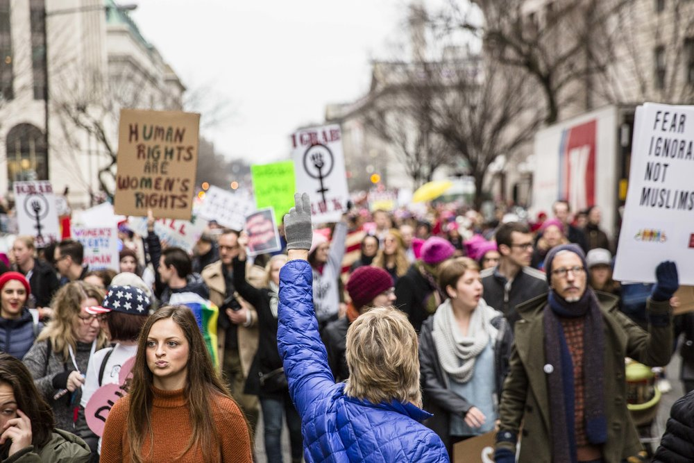 A Day at the Women's March on Washington