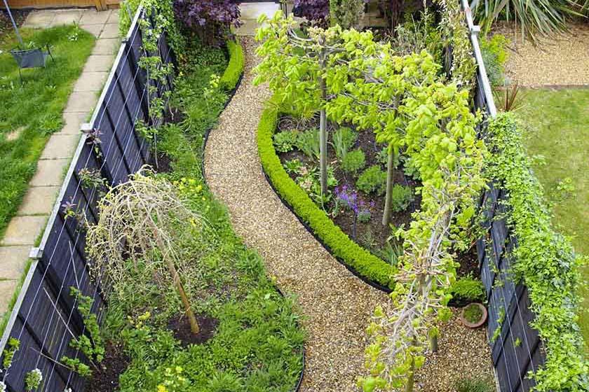 Budget reader garden