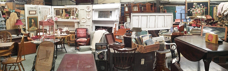Treasures abound in our Warehouse!