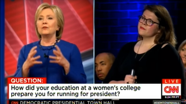 """What I got out of going to a women's college, is that women ran everything."""