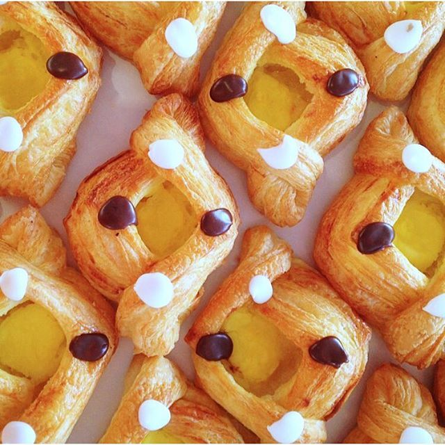 Who's hungry?! The answer is me, always 😊 These yummy custard almond pastries from @copenhagenpastry are to die for! So excited to try their treats at my eBook launch party NEXT week!! I can't believe it's almost here!! #sweettooth