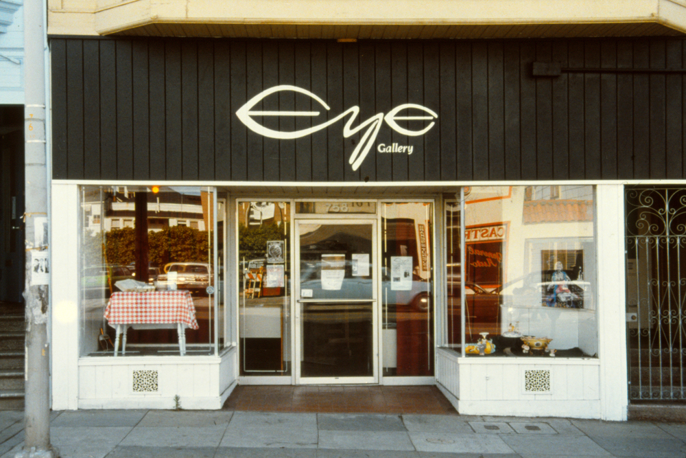 Eye Gallery, 758 Valencia St., San Francisco, ca. 1985