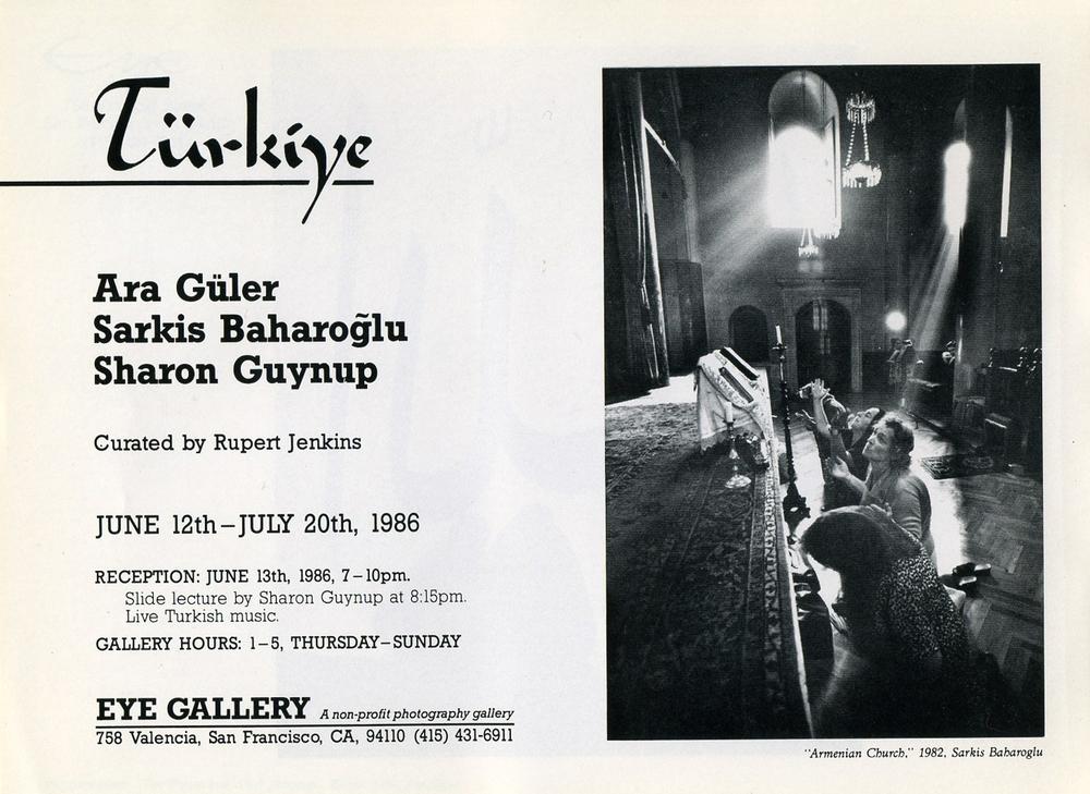Eye Gallery, 1986