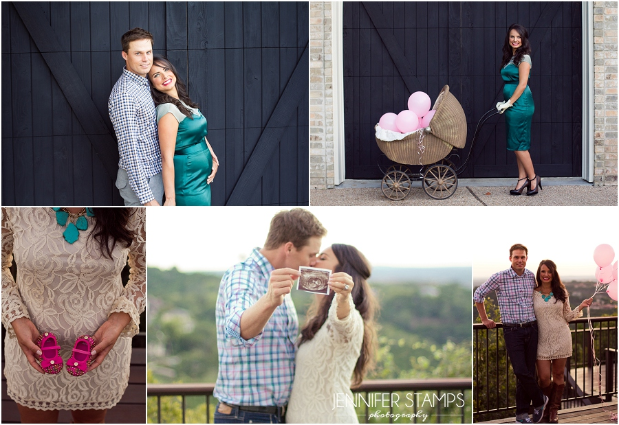 Austin Gender Reveal Photos
