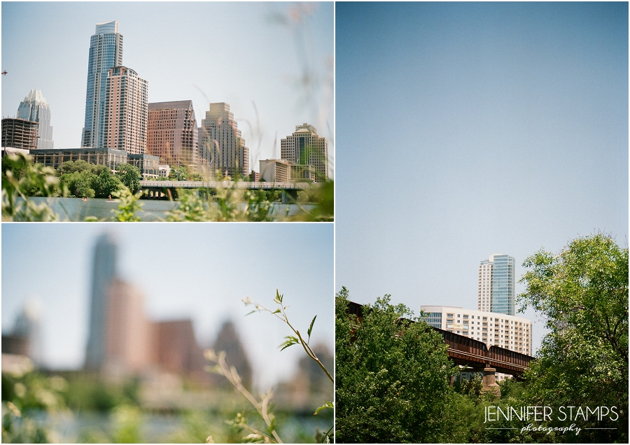 Film Photograph of Downtown Austin