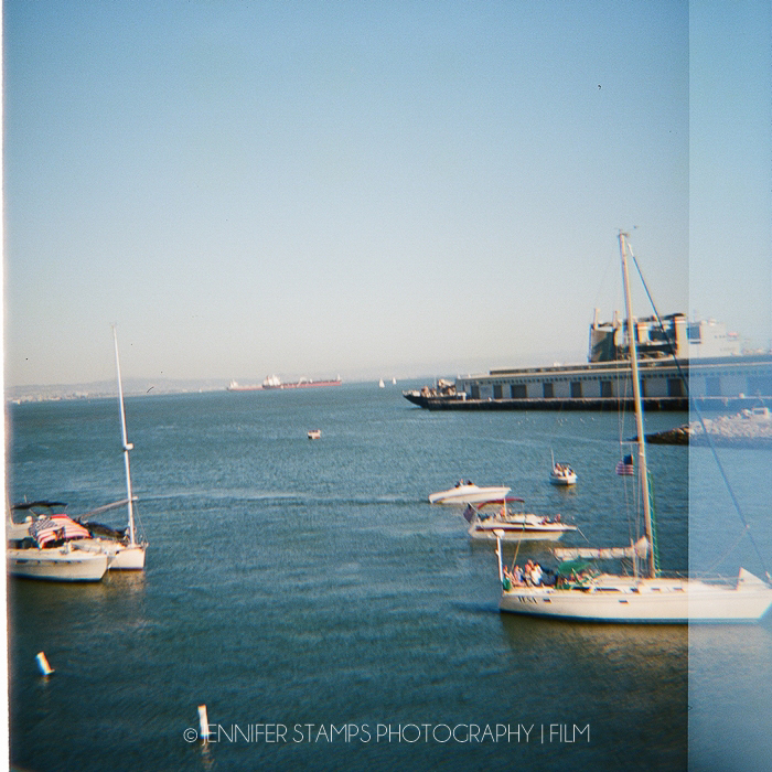 Bay Area Photograph on Film