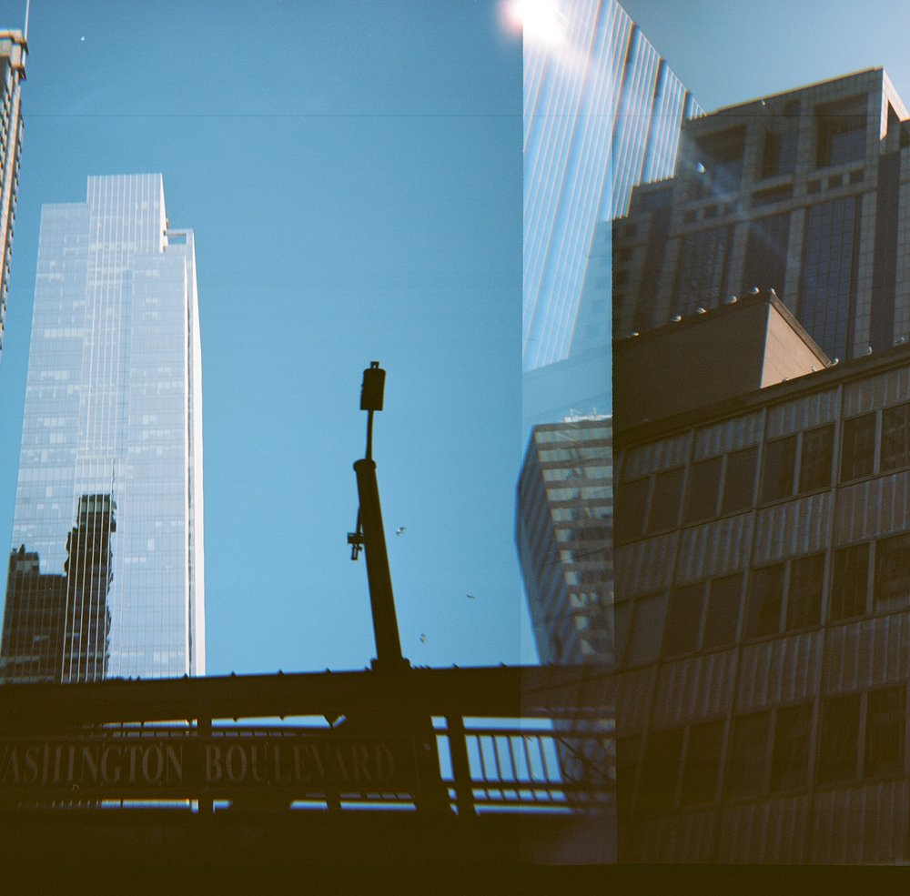 120mm photo of chicago architecture