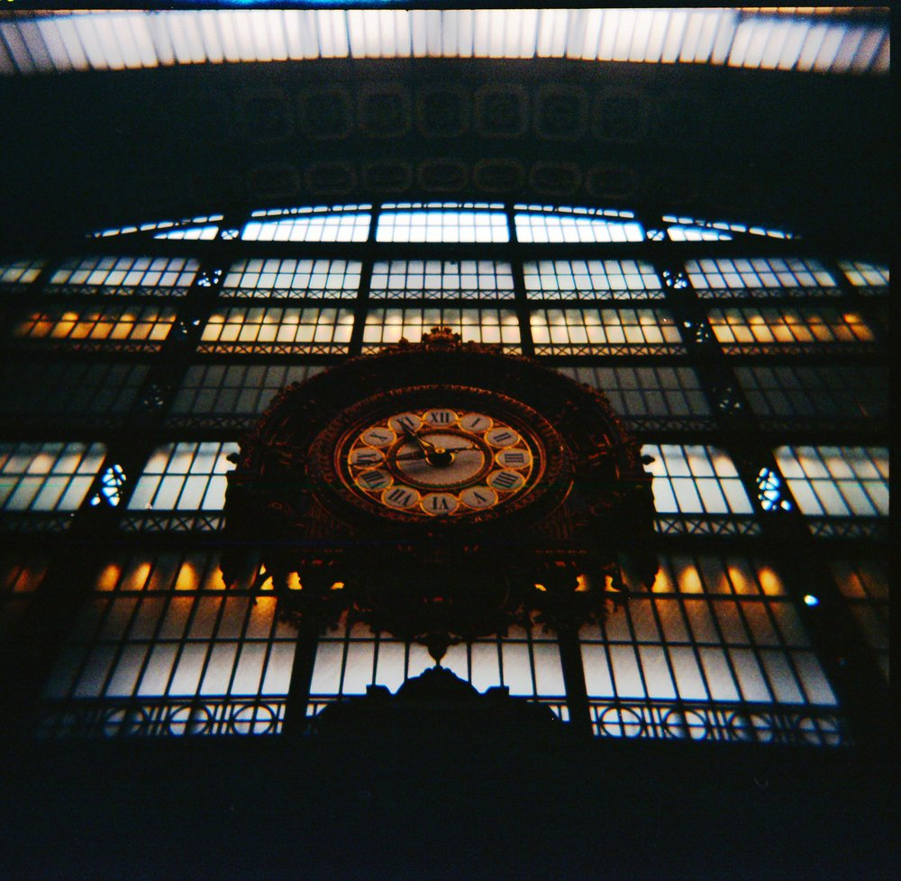 photo of inside the Museum Orsay