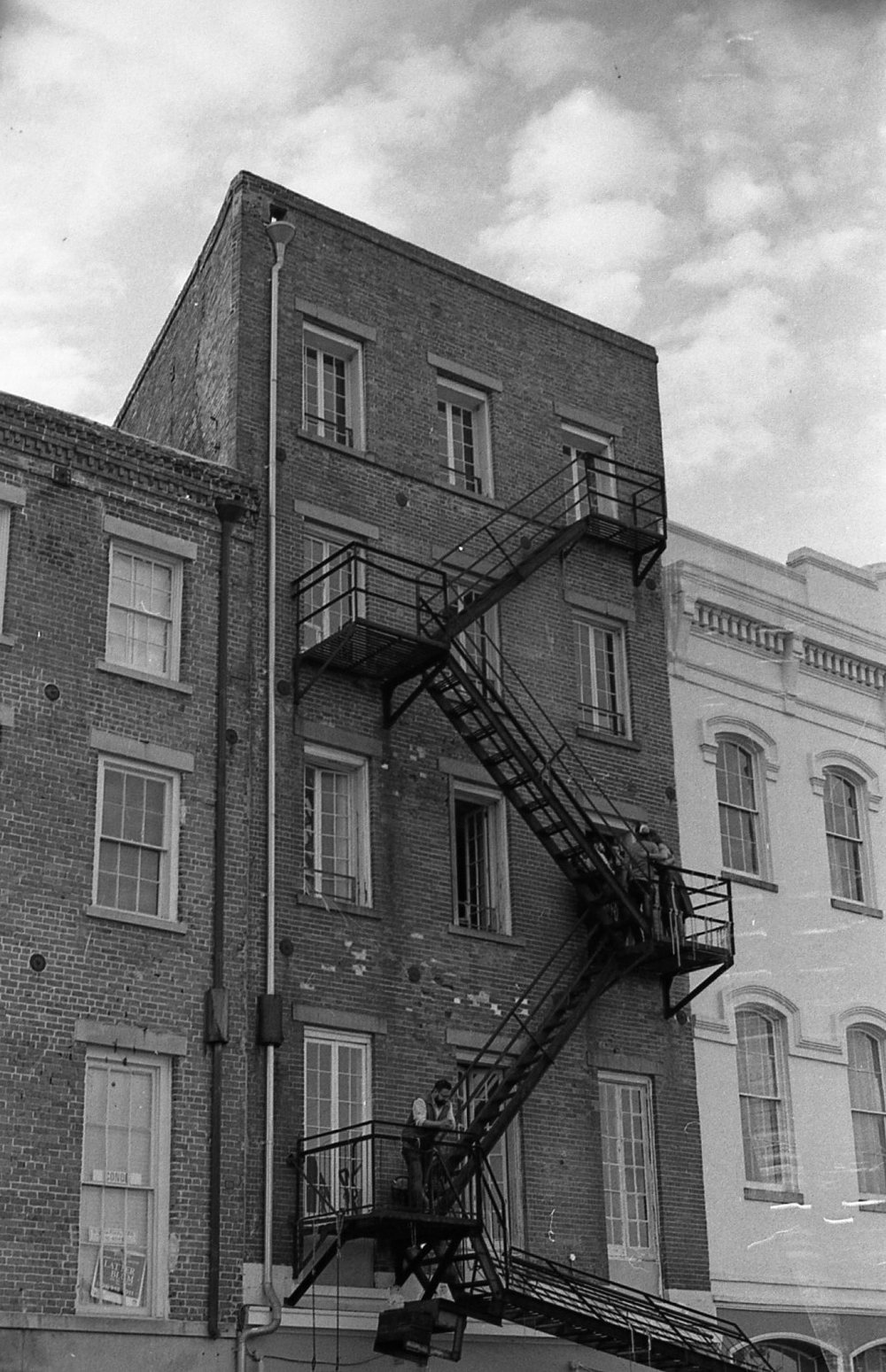 New Orleans on black and white film