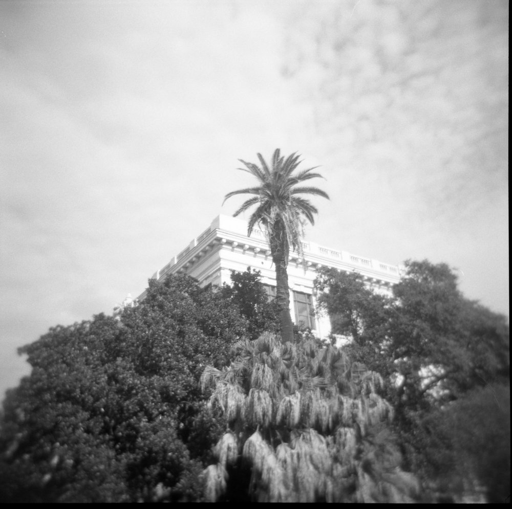 Ilford HP5 and Holga in New Orleans