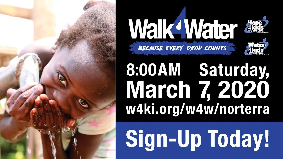 Walk 4 Water and Wheels 4 Water to support Hope4Kids