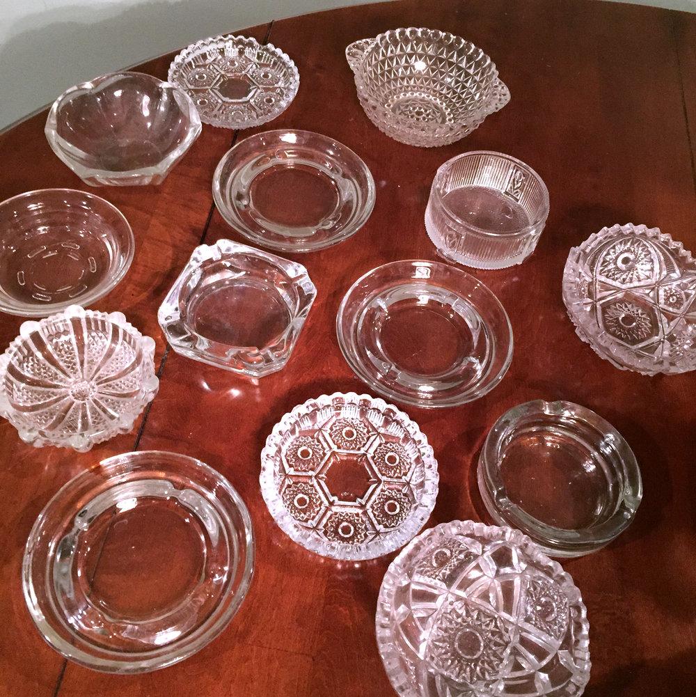Ashtrays Clear Glass.jpg