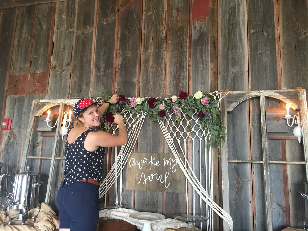Styling in the Barn