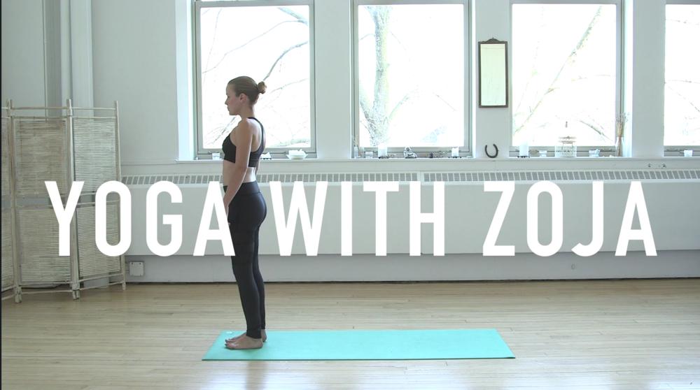 Yoga With Zoja Video